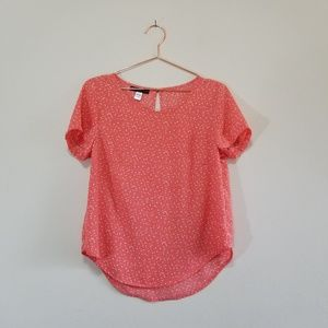 🔥🔥 Simply styled polka dotted bright blouse (a)